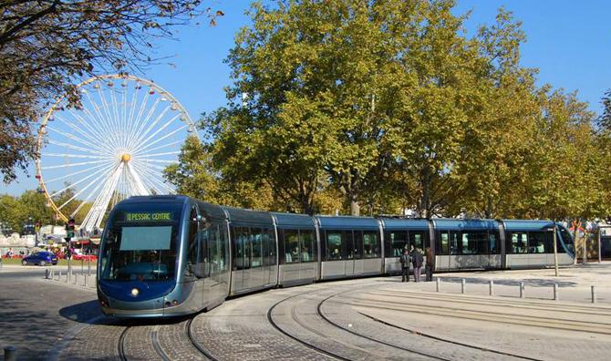 трамваи в Бордо