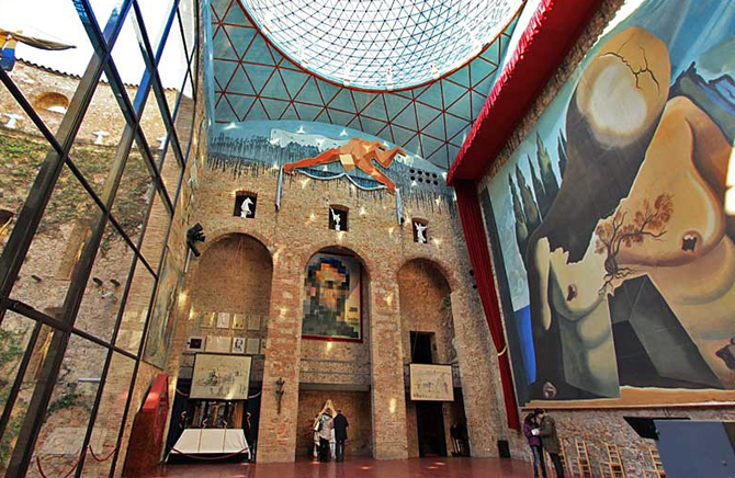 купол музея Дали