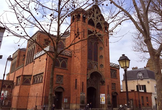 церковь Saint-Jean-de-Monmartre