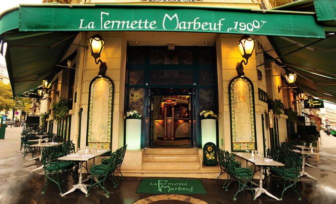 ресторан La Fermette Marbeuf 1900