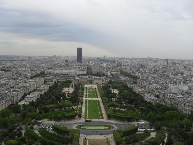 Париж панорама