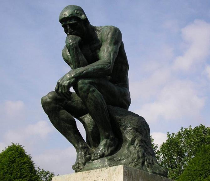 мыслитель Родена