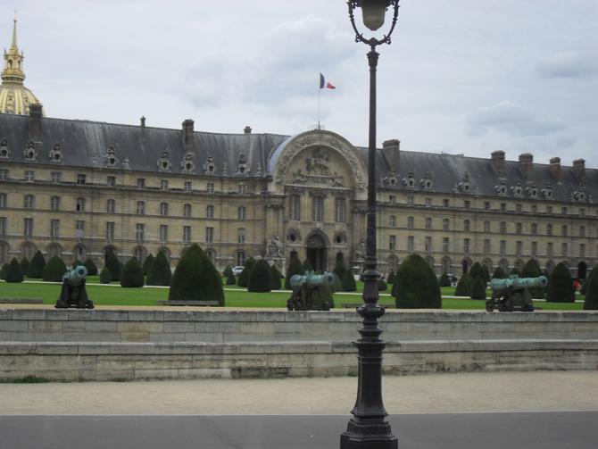 Инвалиды в Париже