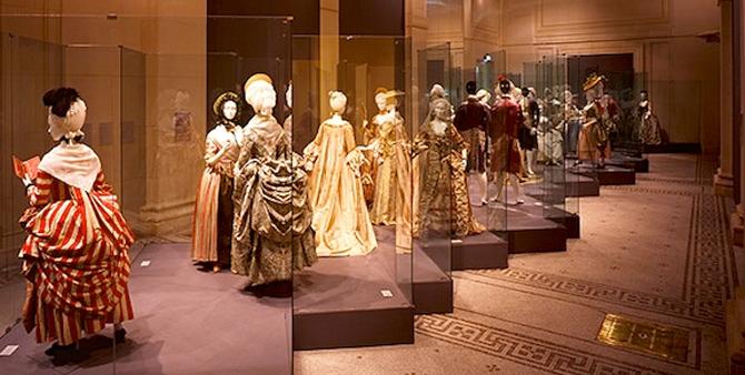 музей моды и текстиля. Париж