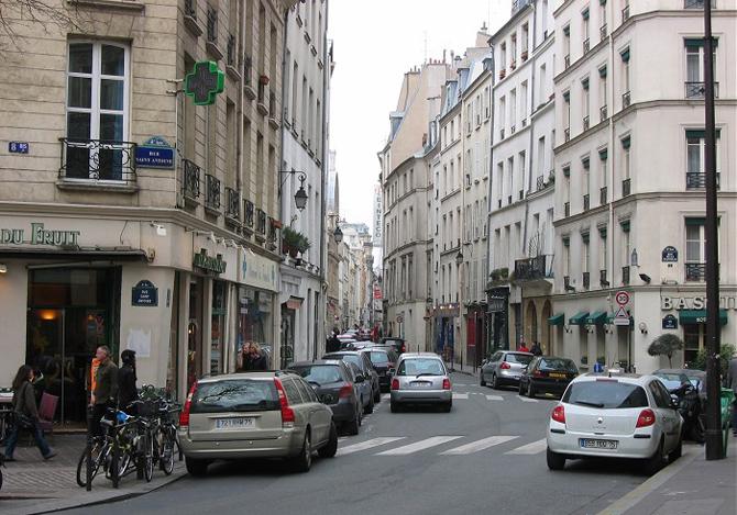 улица Сент-Оноре