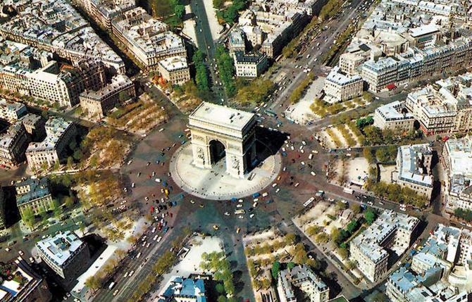 площадь Шарля де Голя