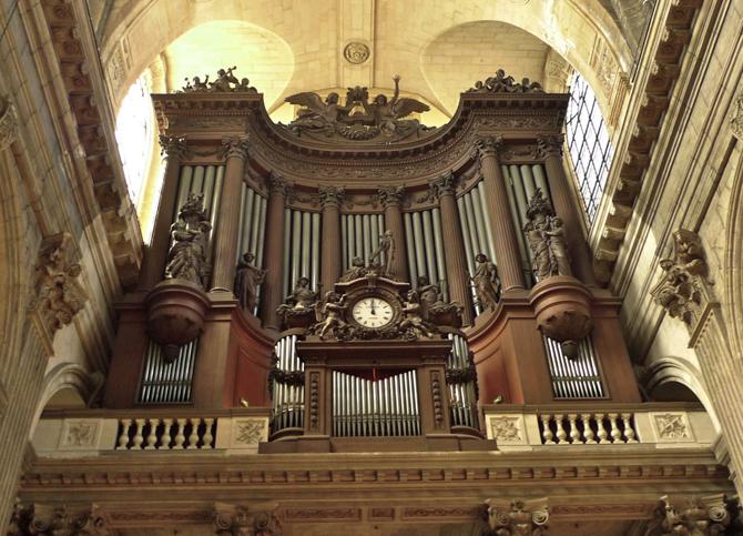 орган церкви Сен-Сюльпис