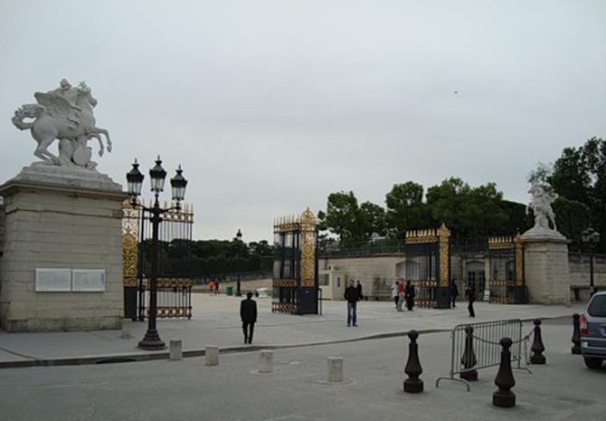 ворота сада Тюильри