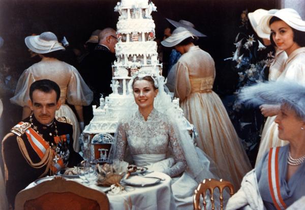 свадьба принца Ренье III и актрисы Грейс Келли