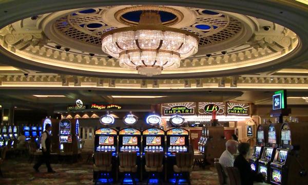 интерьер казино Монте-Карло
