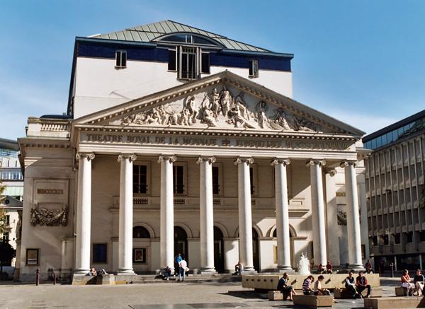 оперный театр Брюсселя