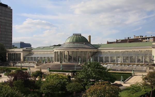 Ботанический сад в Брюсселе