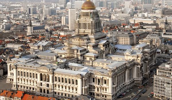 дворец правосудия Брюсселя