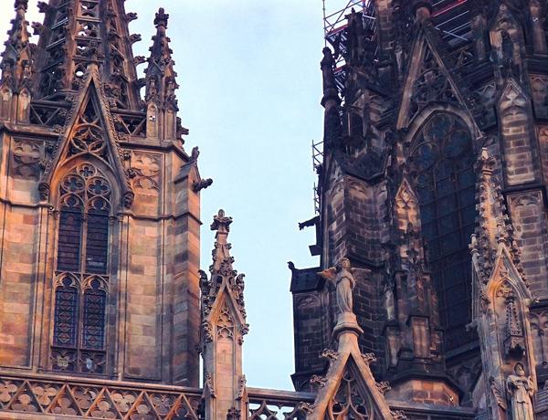 башни собора Саграда Фамилия