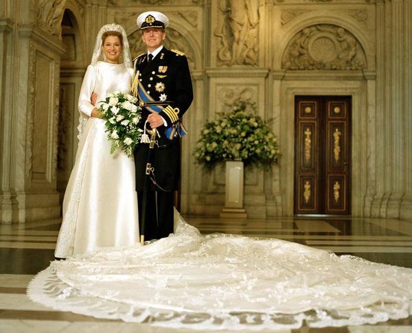 свадьба Максимы и Виллема-Александра