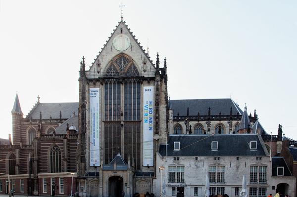 церковь Nieuwe Kerk в Амстердаме