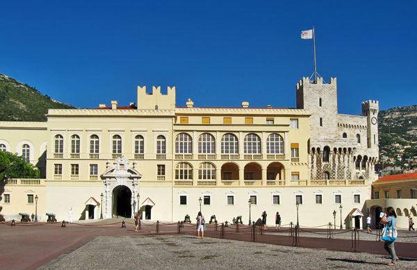 дворец Принца Монако