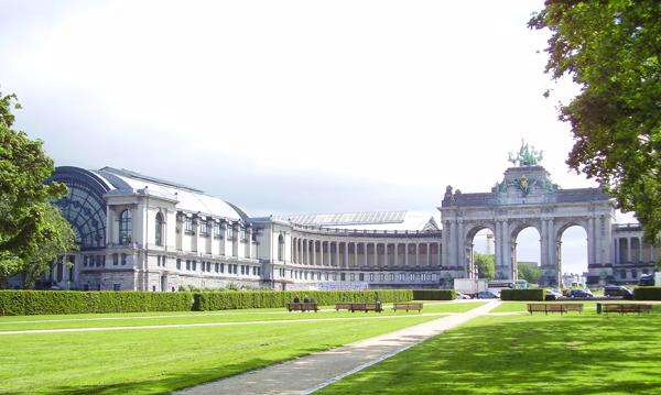 арка парка пятидесятилетия