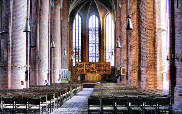 интерьер marktkirche