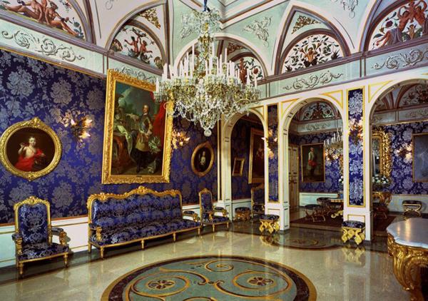 интерьер дворец монако