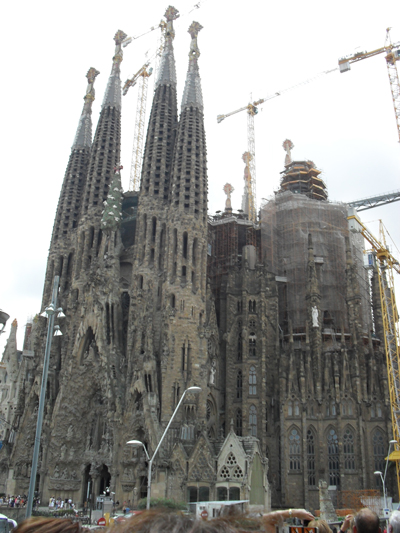 храм Саграда Барселона