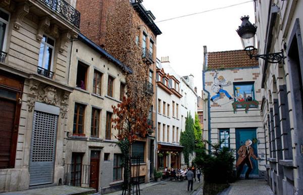 Брюссель музей комиксов