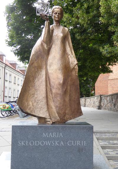 Статуя Марии Кюри
