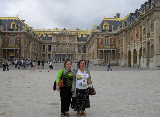 вид на Версаль
