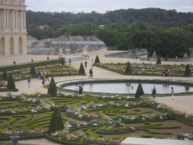 Версаль в саду