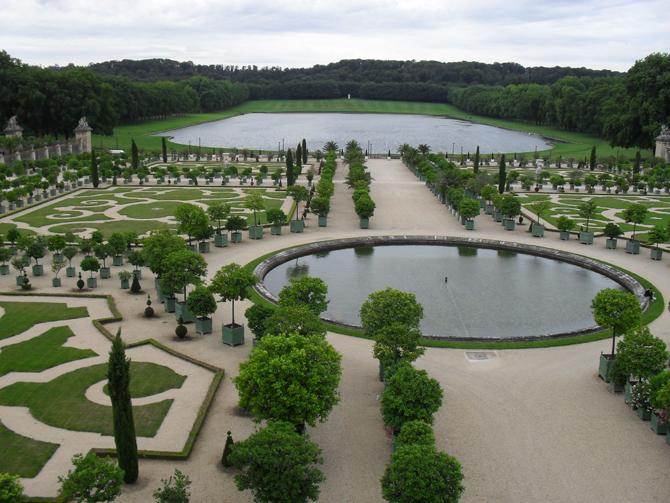 сад Версаля
