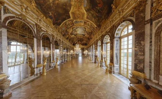 Версаль галерея