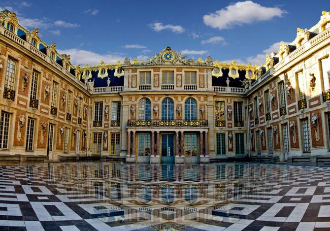 Версаль мраморный двор