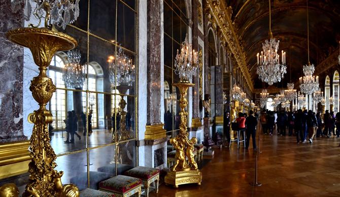 галерея Версаля