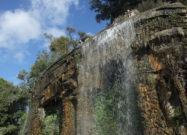 замковая гора водопад