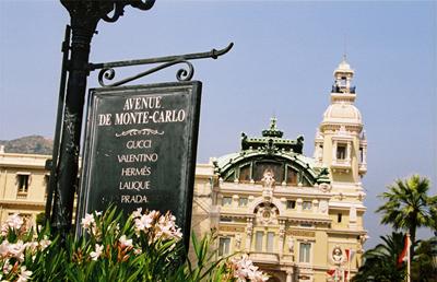 модные бутики в Монте-Карло