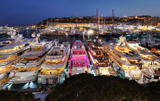 яхты Монако